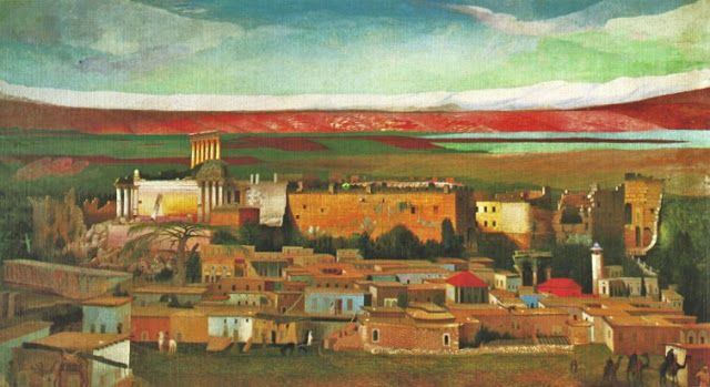 Csontváry Kosztka Tivadar (1853-1919)    Balbek