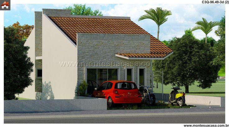 Casa - 3 Quartos - 96.49m²