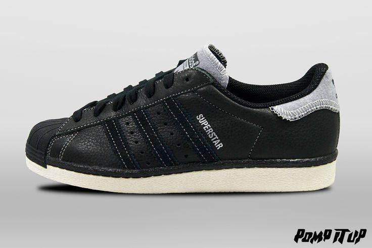 Adidas Superstar 80's Varsity Jack (CBLACK / CBLACK / MSILVER) For Men Sizes: from 40 to 46.5 EUR Price: CHF 150.- #Adidas #Superstar #AdidasSuperstar #Superstar80s #Superstar80sVarsityJack #Sneakers #SneakersAddict #PompItUp #PompItUpShop #PompItUpCommunity #Switzerland
