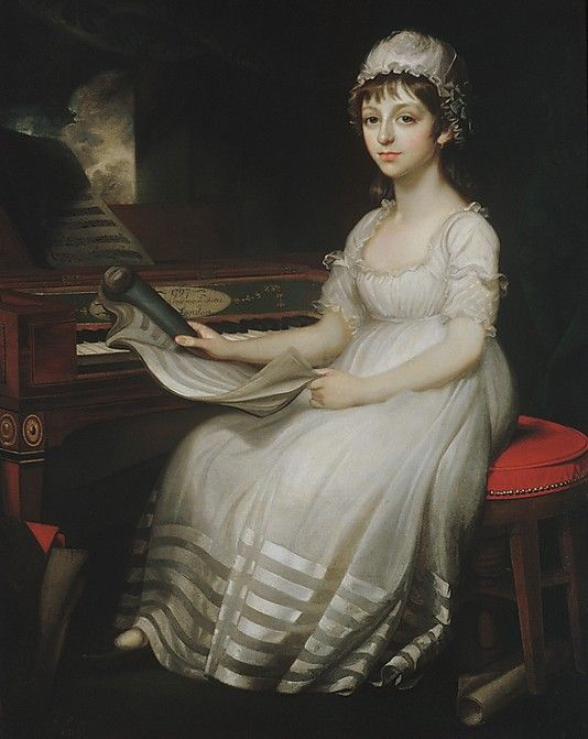 Portrait of a Young Woman ~ 1801: