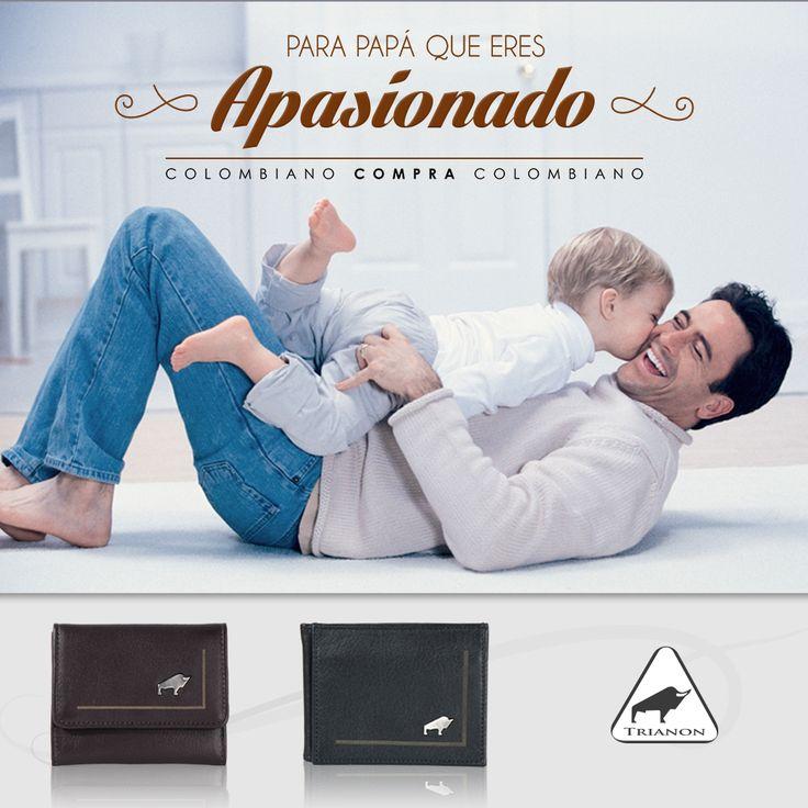 Tiernos, serios, divertidos, apasionados... Así son los #padres Trianon. #FelizDíaPapá http://trianon.com.co/