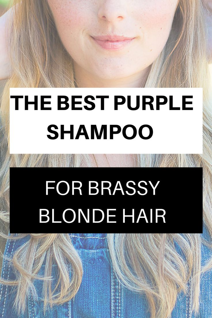 Best Purple Shampoo for Brassy Hair - Vancouver Style Blog