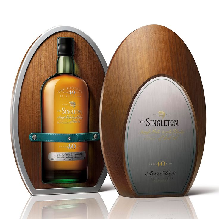 Linea agency designed Singlrton Whisky, edition 40 years.
