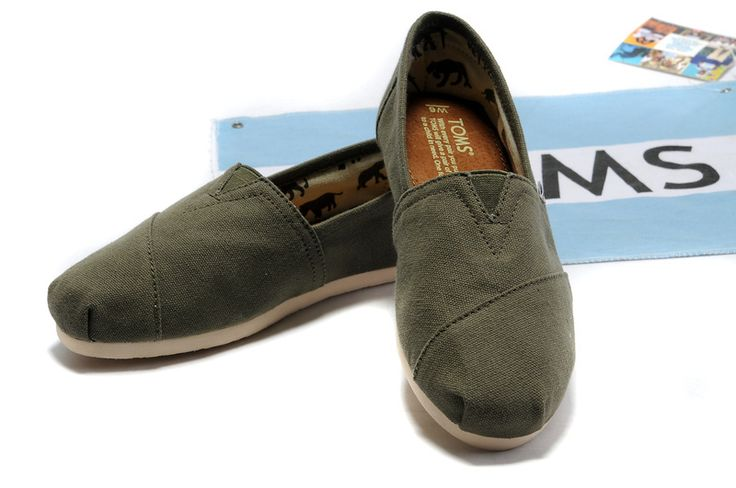 Toms Shoes Sale Men Classic Army Green : Men's And Women's Toms Shoes, Discount Online Sale, Toms Outlet Offer the 2013 Latest and Classic Toms Shoes, Toms Boots and Toms Stripe for Men and Women. 100% Top Quality Guarantee, Free Shipping! $17