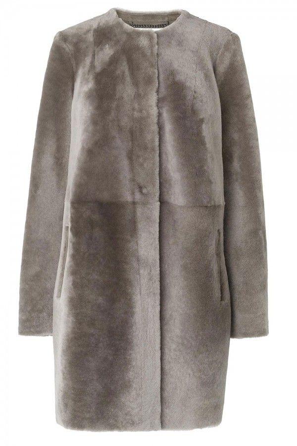 L.K.Bennett Anthea Sheepskin Coat, £995
