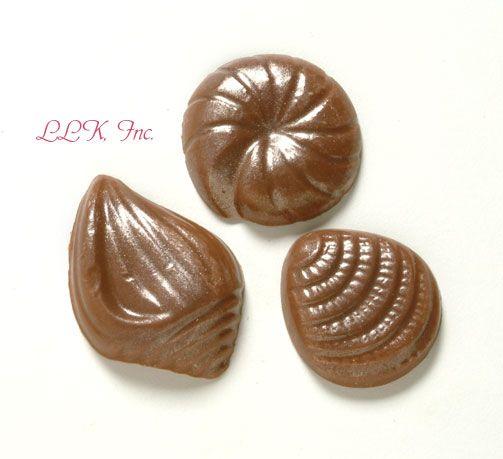 Chocolate Sea Shells, Chocolate Seashells, Chocolate Shells, Sea ...