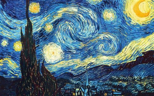 Starry Night by Vincent Van Gogh for #PlayfulPreschool! • The Preschool Toolbox BlogThe Preschool Toolbox Blog