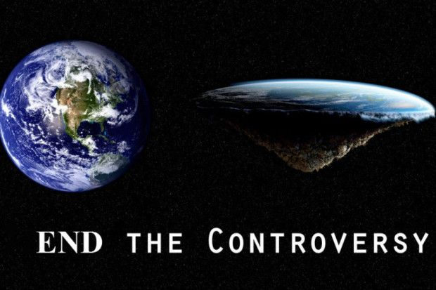 FLAT EARTH VS. ROUND EARTH… END THE CONTROVERSY – LISA RISINGBERRY ...