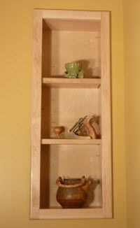 Lovely Between Stud Storage Cabinets