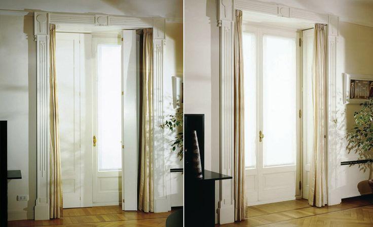 Large-Sized Windows & Doors Frames #blackouts #architecture #design #house #frames #windows #doors