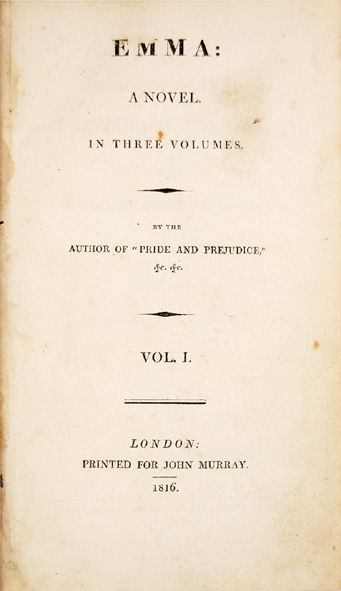 By A Lady: First Editions of The Novels of Jane Austen – Peter Harrington Blog