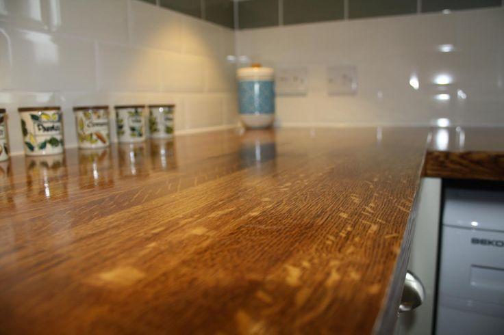 Oak with Danish Oil