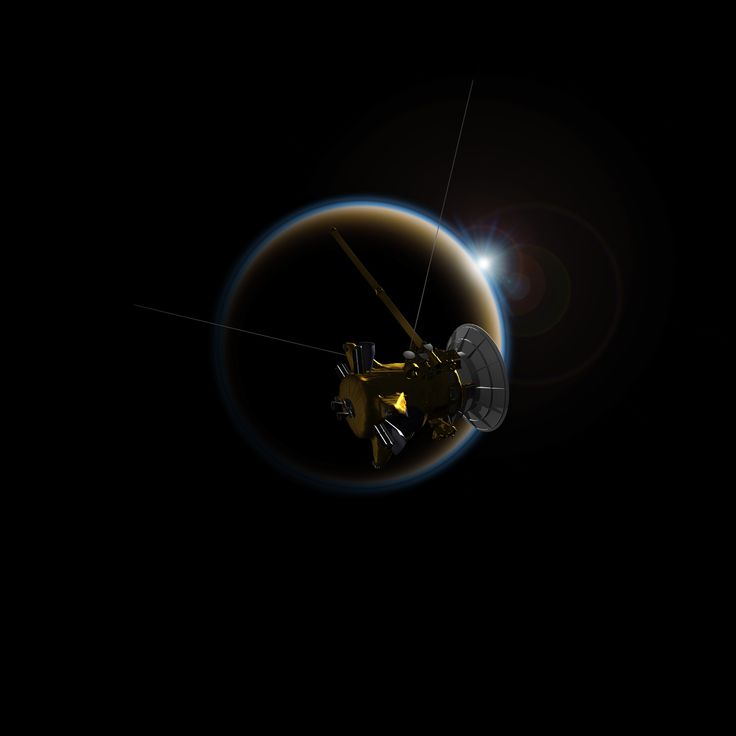 NASA's Cassini spacecraft will make its final close flyby of Saturn's haze-enshrouded moon Titan this weekend.