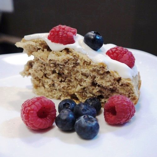 12 best images about cake healty on pinterest banana for What ingredients do you need to make a cake