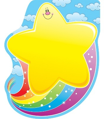 Star with Rainbow Notepad - Carson Dellosa Publishing Education Supplies