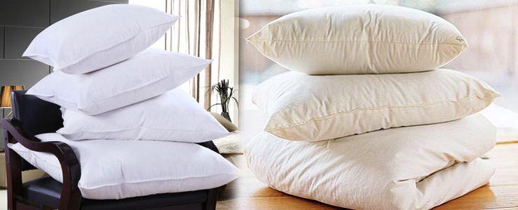 M s de 1000 ideas sobre almohadas de plumas en pinterest - Como lavar almohadas ...
