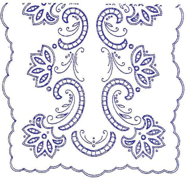 UBRUSY | Ubrus 90x50cm   K | Ubrus  K 256 | Předtisky na vyšívání - Olga Synková Helga