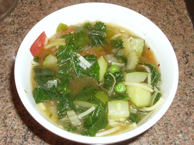 Healthy Minestrone Soup (hairy bikers)