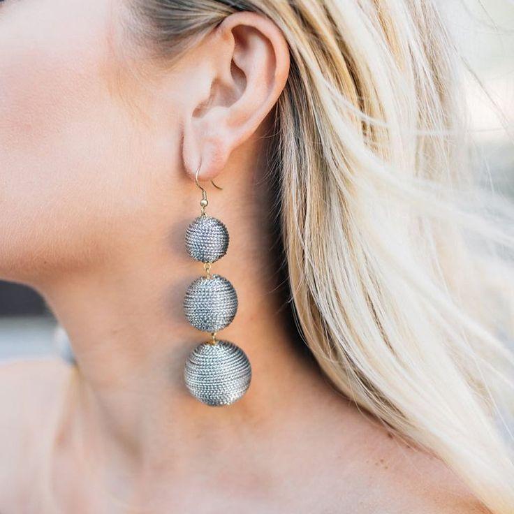 Vivid Ball Drop Boho Earrings
