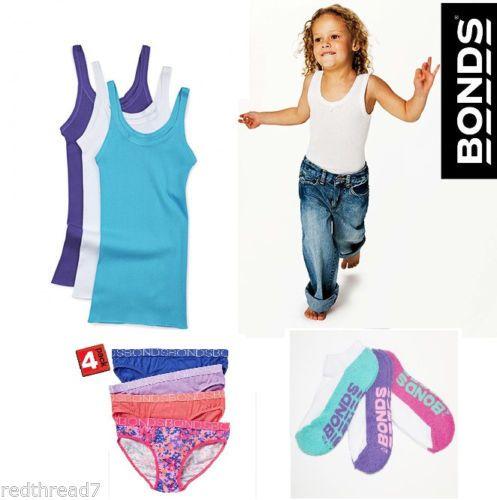 Australian icon,  #Bonds Girls everyday essentials. Back to School #redthread7
