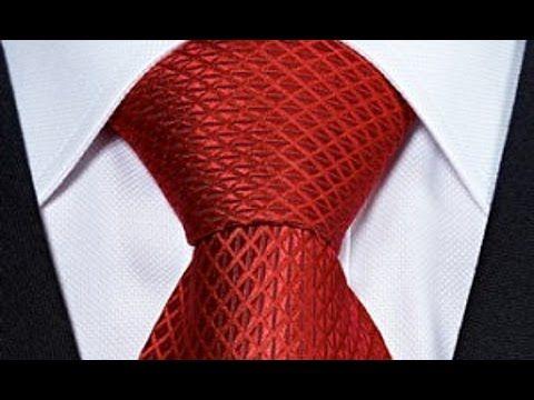 Как правильно завязывать галстук. Полувиндзор