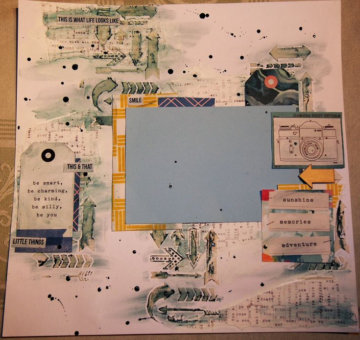 Another layout from Scrappy Chat Designs. Showcases Ranger Distress Crayons.   Photos to be added later.