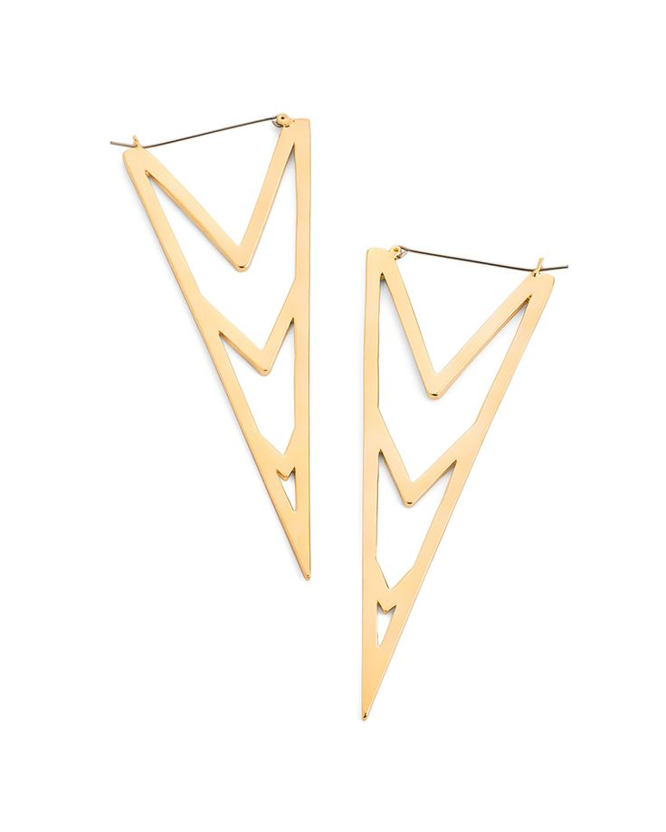 Triangle Statement Earrings