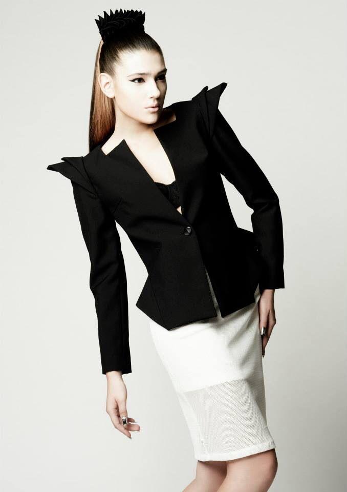 Designer: Valerie Liao Model: Milana Zhukava Photograph: Sohei Yanaoka Make-up: Masaki Takada