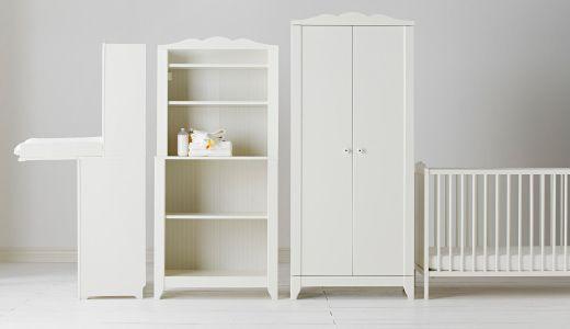 HENSVIK Serie, hier u. a. mit HENSVIK Kleiderschrank in Weiß