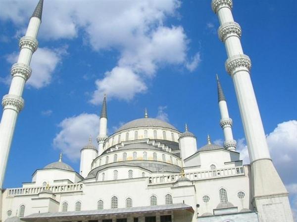 Ankara Kocatepe Mosque.