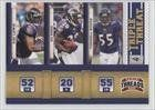 Ray Lewis/Ed Reed/Terrell Suggs Baltimore Ravens (Football Card) 2011 Panini Threads Triple Threat #1 by Panini Threads. $0.90. 2011 Panini Threads Triple Threat #1 - Ray Lewis/Ed Reed/Terrell Suggs