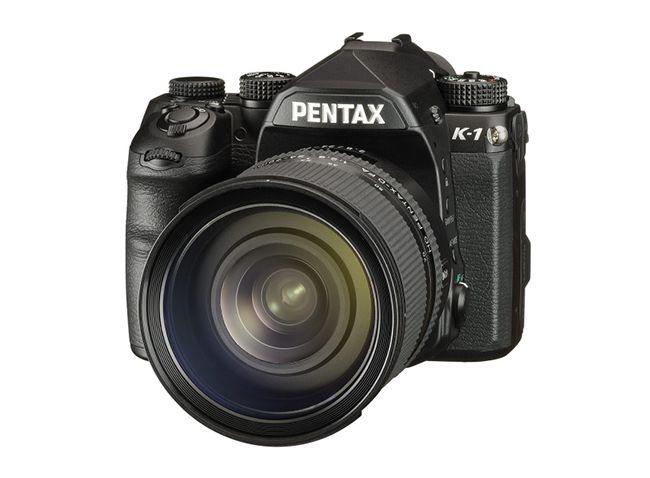 EDGED : 펜탁스, 자사 최초의 35mm 풀 프레임 DSLR 카메라 'K-1' 발매