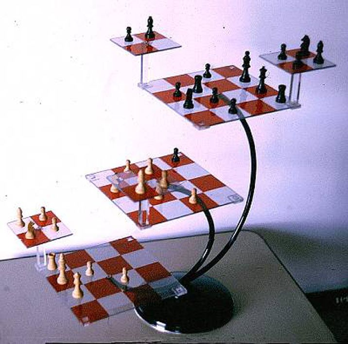3d Chess Board The Chess Art Thread Funny