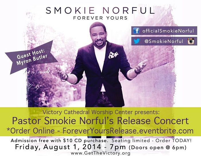 Bolingbrook, Illinois - Pastor Smokie Norful Release Concert, August 1, 2014