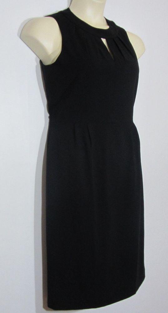 fe0cde667110 Tahari Arthur Levine Womens Classic Style Sleeveless Sheath Dress Black  Medium 6 #Tahari #SheathDress #PartyCocktail