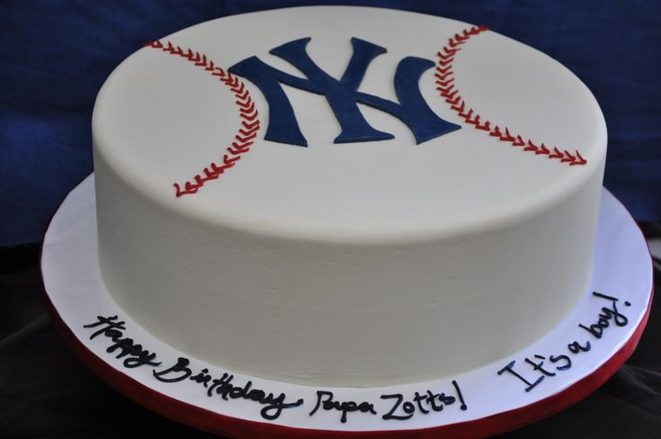 yankee cake decorations | Yankees cake | Cake Decorating