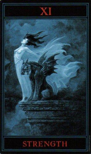 The Gothic Tarot: Strength