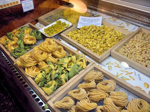 Fresh pasta at 'made in Valeggio sul Mincio'...by local pasta ladies