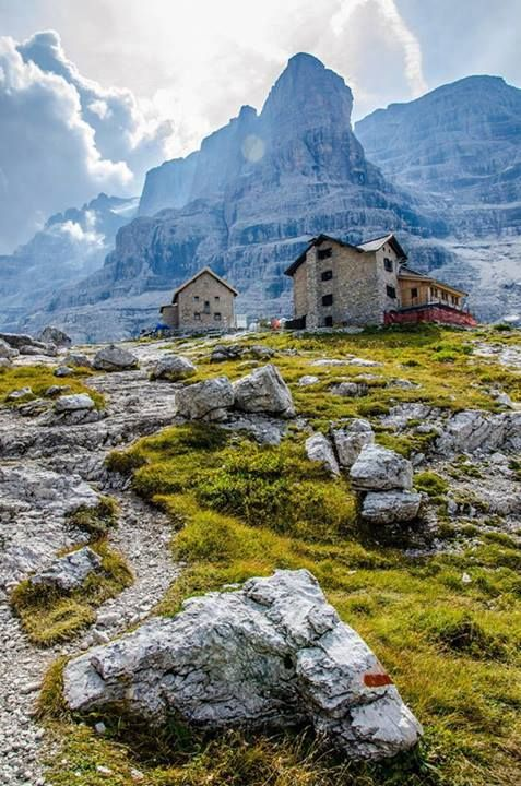 """Daniele Zanon, """"Rifugio Tuckett"""", Madonna di Campiglio #TrentinoAltoAdige  #escursionismo #escursione"""