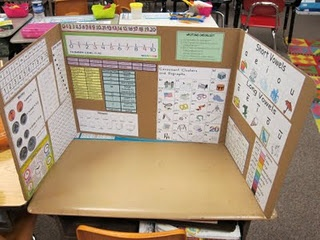 I LOVE these privacy folders! Reduce distractions and provide helpful information at the same time. Provide folders and have students add information throughout the year.