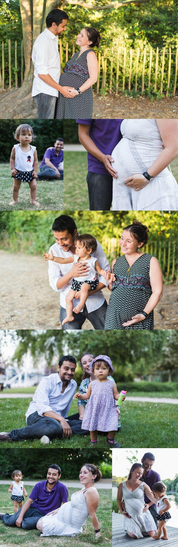 Seance Schwangerschafts- / Mutterschaftsfotograf Paris Schwangere Fotografie   -…