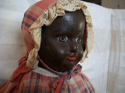 Black Alabama Baby by Ella Smith Doll Co Made in 1905 in Alabama Very RARE   eBay