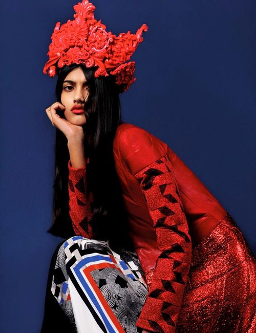 LePandaGorilla - Neelam Johal, Burberry's first Indian model