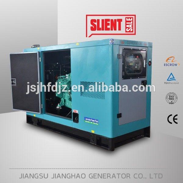 with cummins engine 25 kw silent diesel generator for sale