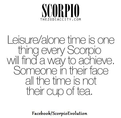 Soooo spot-on and especially for #introvert #Scorpio