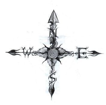 DeviantArt: More Like True North Compass Tattoo by DesertDahlia
