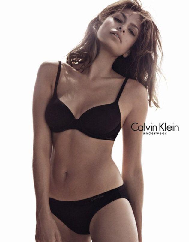 Eva Mendes Calvin Klein Model