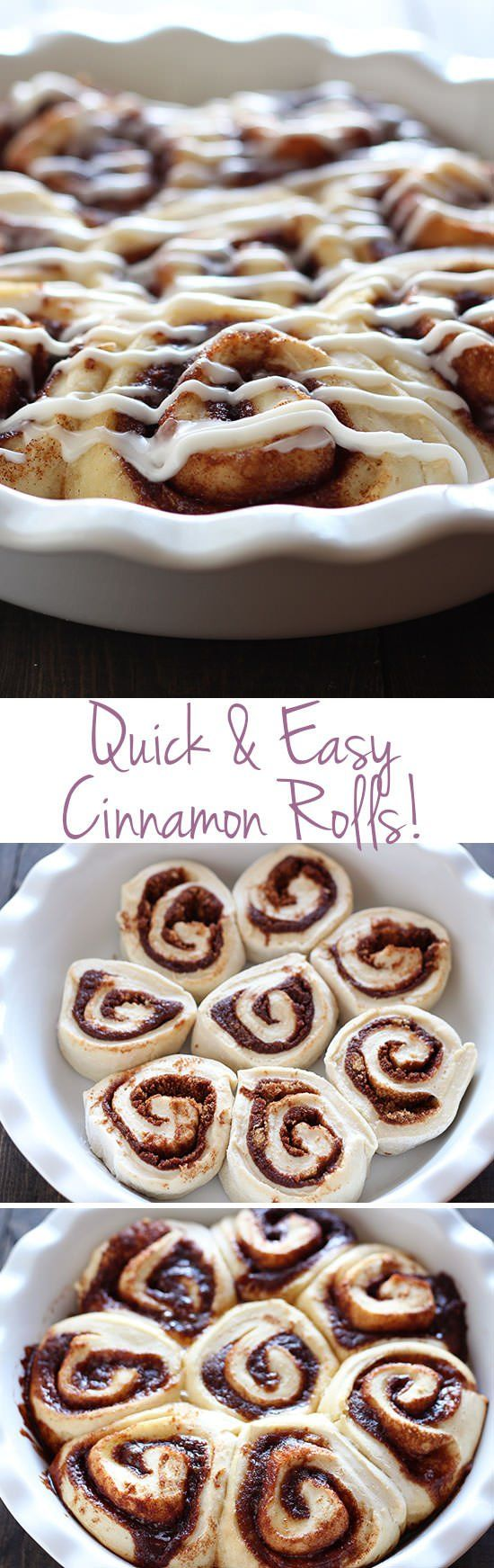 1 hour for homemade cinnamon rolls!? These look PERFECT.