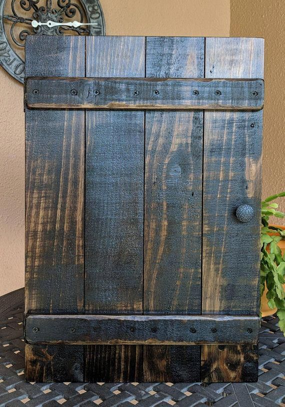 Upcycled Barnwood Style Cabinet Diy Cabinet Doors Rustic Furniture Rustic Cabinets