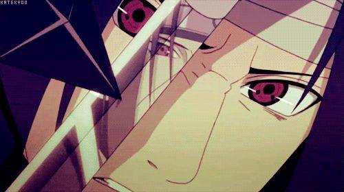 itachi vs sasuke (*¯︶¯*)